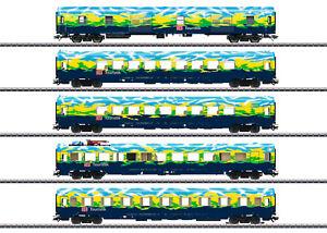 """Märklin 43879 /H0-AC/ Personenwagen-Set """"Touristikzug"""" DB, Ep.V MHI in OVP / NEU"""