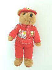 Ferrari Formel 1 Fanartikel Maskottchen Plüsch Bär Teddy Neu ca.18cm groß