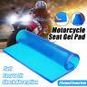 Motorcycle Seat Elastic Fiber Motorbike Comfort Gel Cold Pad Cushion 25*22*1cm^