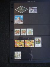 10 Good Quality Used Stamps Malaysia