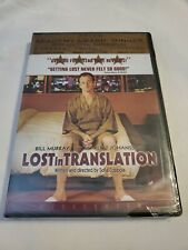 Lost in Translation (Dvd, 2004, Widescreen) Bill Murray New