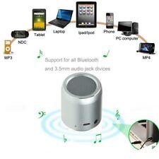 LUXON Mini Bluetooth portable wireless speaker with 5 hr playtime (Silver)