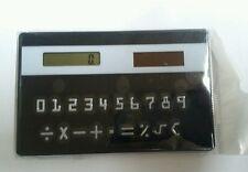 Credit card sized pocket calculator solar powered. Slim. Brand new. UK Seller.