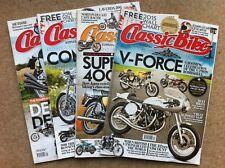 Classic Bike Magazines - 4 issues - 2014/2015/2016