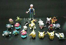 Lot 21 Vintage Pokemon TOMY & CGTSJ, Ash ketchum Figure  Nintendo VG 1998