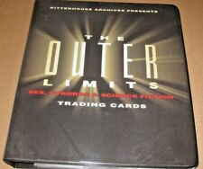 OUTER LIMITS Sex, Cyborgs & Science Fiction BINDER,COSTUME CARD CC12 & PROMO P3