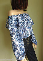 Gypsy Style Blouse Off The Shoulder   Top John Zack