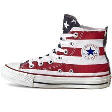 30ec906ab145 Scarpe uomo donna CONVERSE All Star Chuck Taylor hi tela bandiera USA M8437C