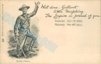 Baden Powell Boer War siege Of Mafeking  Tuck Empire series 281  boy Scouts v2