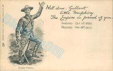 Baden Powell Boer War siege Of Mafeking  Tuck Empire series 281  boy Scouts v2