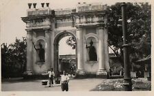 Postcard Indonesia Java Gate of Batavia Rppc ca1918-36 NrMint Unused