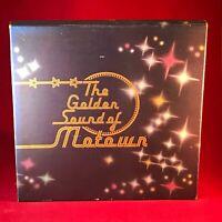 VARIOUS The Golden Sound Of Motown - 1980 UK World records 8 X cassette Box Set