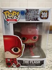 "Justice League DC Pop! Heroes Statuetta in Vinile "" The Flash "" 10cm n.208"