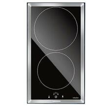 Grundig Giei 323210 30cm Touch Control Induction Domino Hob with Trim
