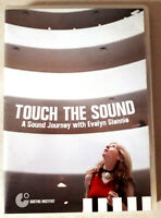 Touch the sound (Docu) - Evelyn GLENNIE - dvd Goethe Institut Très bon état