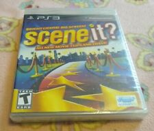 Brand New & Sealed Scene It Bright Lights Big Screen for PS3 PlayStation 3