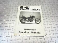 2003 99-04 Kawasaki Vulcan 1500 Classic Oem Motorcycle Service Manual (Fits: Kawasaki)