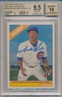 2015 Topps Heritage Addison Russell Real One Autographs RC BGS 9.5 Auto 10 #2746