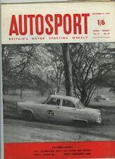 Autosport November 27th 1959 *RAC Rally*