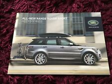 Range Rover Sport Accessories Brochure 2013 - UK Issue