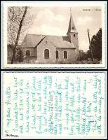 BELGIUM Postcard - Loverval, L'Eglise FZ2