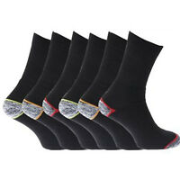 6 PAIRS MENS OUTDOOR BUILDERS WALKING HIKE THERMAL WINTER WARM BOOT WORK SOCKS