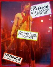 Rare Prince Picture Book Magazine In His Own Words 32 pgs 1984 New Purple Rain
