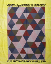 Multi Color 5 x 7 ft Kilim Dhurrie Modern Rug Fine Wool Rug Decorative Geometric
