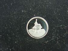 Country Church Building 1 Gram .999 Silver Round Coin Bar Bullion