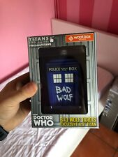 "DOCTOR WHO TITANS Vinyl Figure 6.5"" BAD WOLF TARDIS - New in Box"