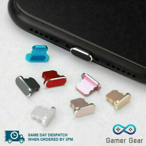Anti Dust Plug Cover Charger Port Cap for iphone 6 7 8 X XS 11 12 SE Pro Max