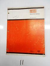 Case Model 26C Backhoe Parts Catalog B1207  2/74