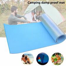 Outdoor Roll Up Foil Camping Mat EVA Foam Sleeping Mattress Thermal Insulated AU