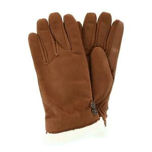 New Isotoner Women's Microfiber Winter Glove with Button Detail