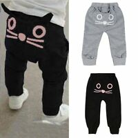 Kids Baby Boys Elastic Harem Pants Toddler Trousers Leggings Joggers Sweatpants