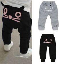 Toddler Baby Kids Boy Girl Harem Pants Sweatpants Casual Long Trousers Bottoms