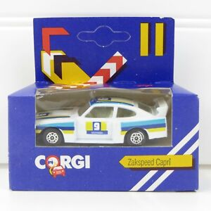 ZAKSPEED CAPRI - VINTAGE 1984 CORGI 1:64 DIE-CAST CAR - MINT IN BOX