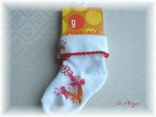 Gymboree~LA PLAYA Butterfly Cuff Socks~3 6 9 12 mo~NEW-Baby Girl-summer Spring