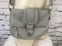 """American Rag CIE Crossbody Purse Shoulder Bag Grey 9"""" X 7"""""""