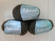 NEW 150g Sirdar Nomad fine wool alpaca mix yarn col.0012 tibet/brown