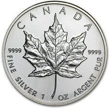 1995 Canada 1 oz Silver Maple Leaf BU - SKU #11059