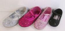 Chaussures décontractées noires en synthétique pour fille de 2 à 16 ans