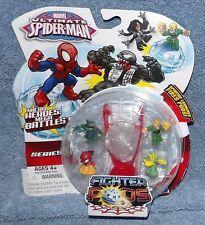 MARVEL ULTIMATE SPIDER-MAN SERIES 1 FIGHTER PODS 4 PACK SET #8