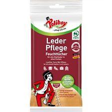 Poliboy Leder Pflege Feuchttücher 20 Stck.(0,15€/Stck.) Leder Reinigung Pflege