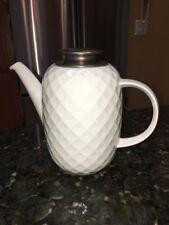 VTG Thomas Rosenthal Germany porcelain coffee Pot / Teapot Holiday White NICE!