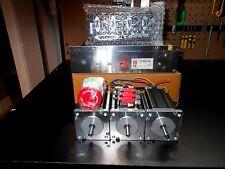 Gecko G540, 3 Nema 23 600oz 1/4in Shaft & 48v 12.5a & 3 300v 80c Motor Cables