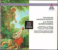 MOZART La Finta Giardiniera 3CD Edita Gruberova Thomas Moser Upshaw HARNONCOURT