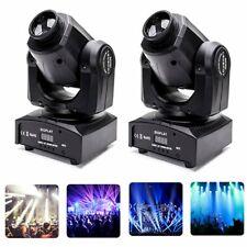 2Pcs RGBW Moving Head Stage Lighting 100W LED DJ DMX Beam Bar Disco Party Lights