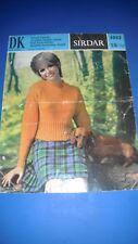Sirdar Women's Sweater Knitting Pattern 5062
