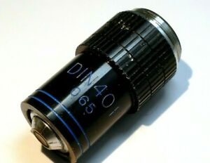 SWIFT DIN  40 F 0.65  Microscope Objective Lens 40 X